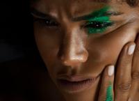 shareefa J modern make up and beauty photography shot by camilo mateus