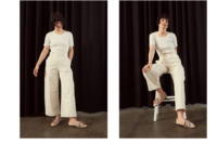 ladies creative in studio fashion campaign